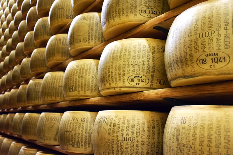 cheese aging process