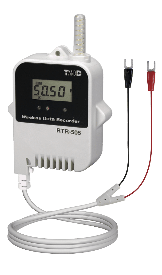 HVAC monitoring TandD rtr 505 p data logger