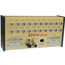 adwin-gold real-time data acquisition system