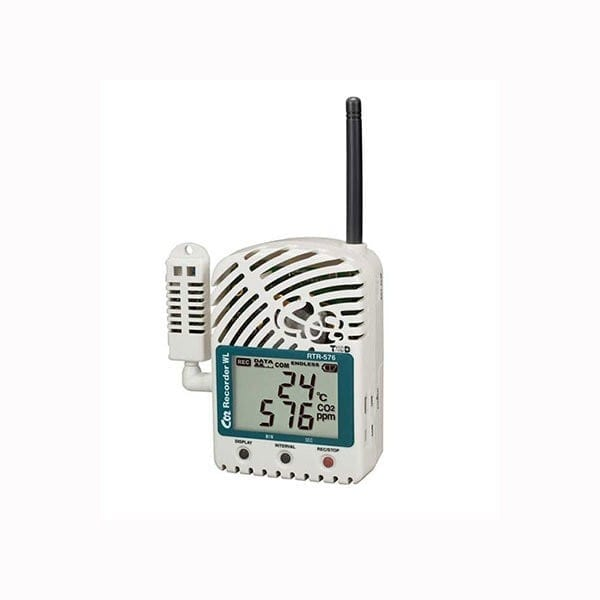 rtr-576-s co2 wireless temperature humidity data logger