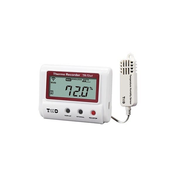 tr-72wf-s wifi temperature humidity data logger