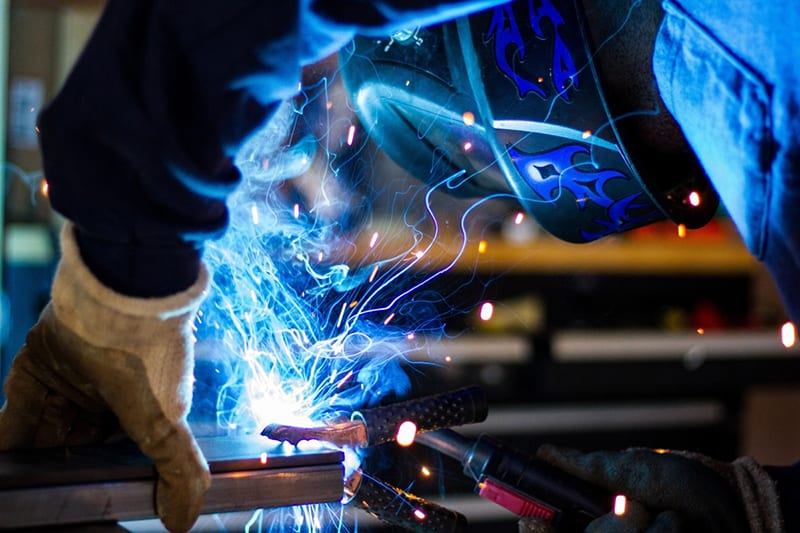 welding, quality welds using a data logger