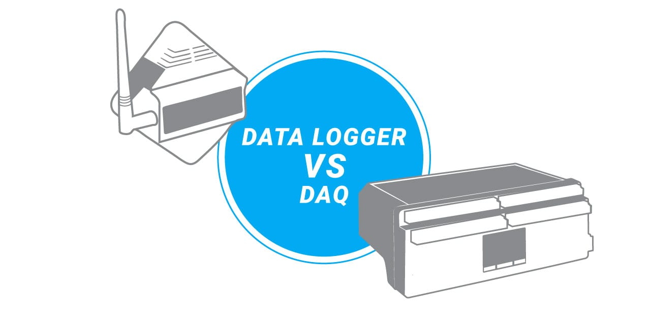 Data Logger vs DAQ application photo