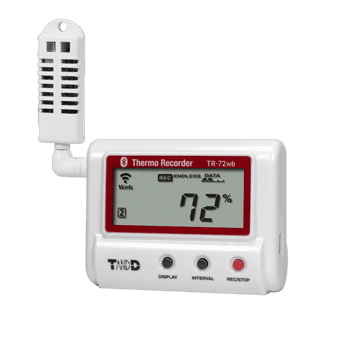 TR-72wb WiFi & Bluetooth Temperature Humidity Data Logger